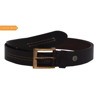 HyEnD Men's/Boys Dark Brown Stylish Formal/Casual Leather Belts