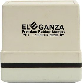 Eleganza Self Ink DELIVERED  Size  45x12 mm Pre-inked Stamp