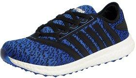 Columbus Men's SKM-03 BLUE BLACK Sports Running Shoes