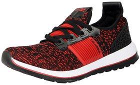 Columbus Men's IIFAI Black Red Sports  Running Shoes