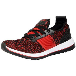 Columbus Men's IIFAI Black Red Sports  Running Shoes