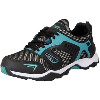 Columbus Men's KP-10 Black Green Sports  Running Shoes