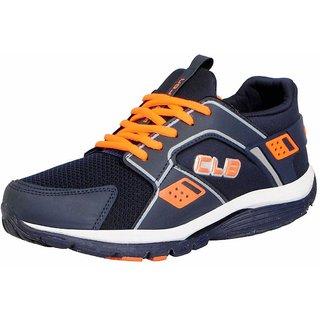 Columbus Men's KP-4 Navy Orange Sports  Running Shoes