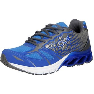 Columbus Men's SKM-05 Grey Blue Sports  Running Shoes
