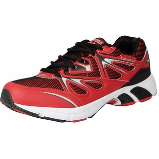 Columbus Men's TP-7 Red Black Sports  Running Shoes