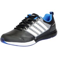 Columbus Men's ENERGY BLACK BLUE Sports Running Shoes