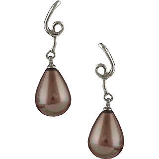 Anuradha Art Brown Colour Designer Trendy Classy Earrings For Women/Girls
