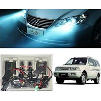 Trigcars Tata Safari Dicor Car HID Light H-4 8000K