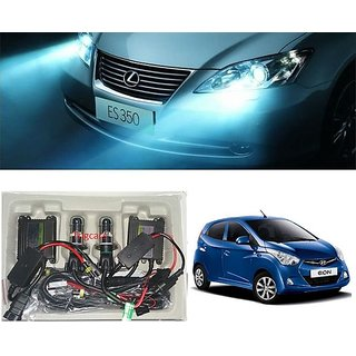 Trigcars Hyundai Eon Car HID Light H-4 8000K