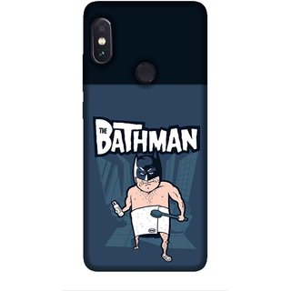 cheap for discount 46fe9 f13b5 For Redmi Note 5 Pro funny cartoon, cartoon in mask, blue background  Designer Printed High Quality Smooth Matte Protective Mobile Case Back  Pouch ...