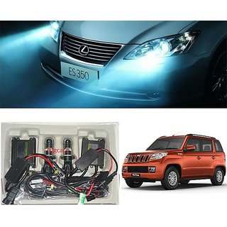Trigcars Mahindra TUV 300 Car HID Light H-4 8000K