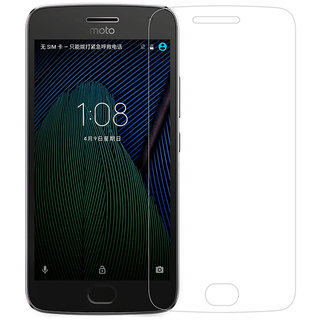 Moto G5S+ / G5S PLUS Tempered Glass (Screen Protector Guard)