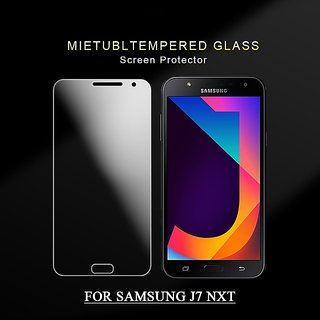 Samsung Galaxy J7 Nxt Tempered Glass (Screen Protector Guard)