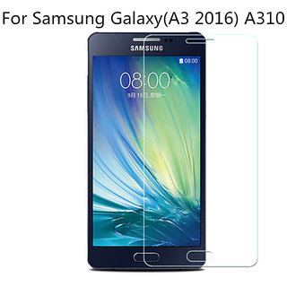 Samsung Galaxy A3 2016 (A310) Tempered Glass (Screen Protector Guard)