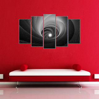 Wall Sticker Abstract Design (Cover Area :- 32 X 18 inch)