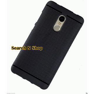 Redmi Note 4 Dotted Soft Back Cover Case