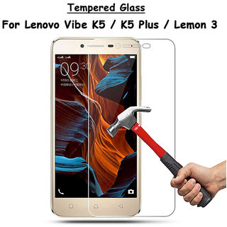 Lenovo Vibe K5 Plus / K5+ Tempered Glass (Screen Protector Guard)