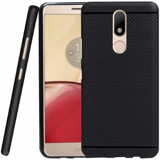 New Motorola Moto M - 5.5 Dotted design Rubber Silicon flexible Case cover