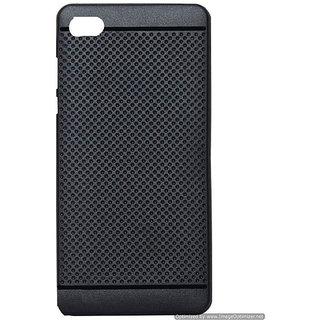 Soft Back Case Cover For Vivo V5 Plus - (Black Dotted)