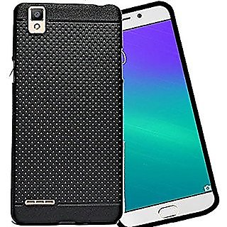 Oppo F1 Dotted Soft Back Cover Case