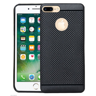 Full Protection Dotted Soft Rubberized Back Case Cover For iPhone 7 ( 4.7 INCHES )