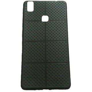 Vivo V3 Square Dotted Design Soft Rubberised Back Cover
