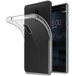 Ultra-Thin TPU Back Cover Case for NOKIA 6 - Transparent