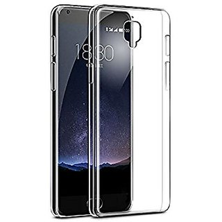Yu Yureka Black Soft Silicon Transparent Back Case Cover