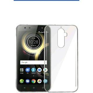 Lenovo K8 + Plus Back Cover Luxury Transparent Soft TPU Silicon Slim Case