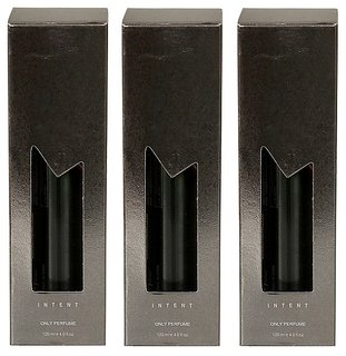 Set of 3 INTENT deo body spary