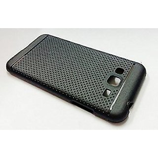 Protection Premium Dotted Designed Soft Rubberised Back Case Cover for Samsung Glaxy J7 2016 (J710)