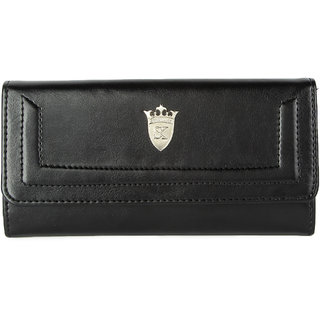 Styler king Black Plain Clutch
