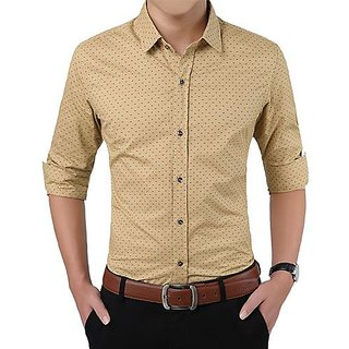Gladiator Products Dotted Shirt Slimfit