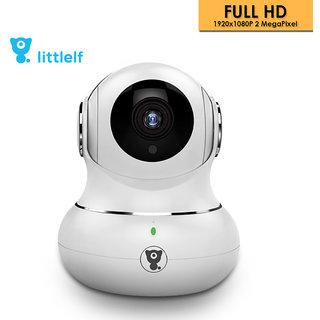 D3D Littlelf Wireless IP Wifi CCTV indoor Security Camera Model- LF-P1t