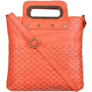 Adine Orange Womens Sling Bag
