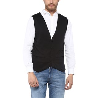 Veirdo Cotton Sinker Causal Style Waistcoat for Men