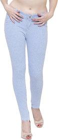 Govil Ice Blue Woman Skinny Jeans