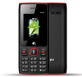 JIVI N3333 DUAL SIM MOBILE PHONE WITH 4000 MAh BATTERY