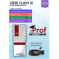 IProf's  CBSE Class 11 PCB Premium Pack On Pen-Drive [CLONE] - 5482142