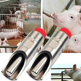 10 Pcs Pig / Pork Nipple Drinker