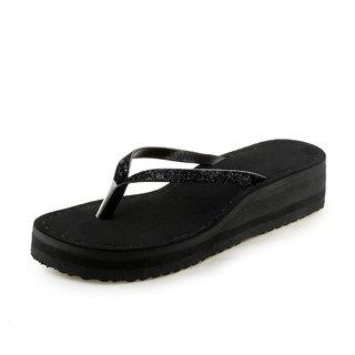 Vaniya shoes Black flip flop