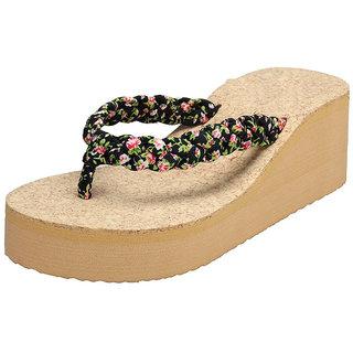 096440fa36f4 Buy Vaniya shoes Zacho Black flip flop Online - Get 12% Off