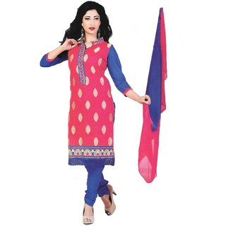 SIYA's Creation Women's Cotton Unstitched Dress Material