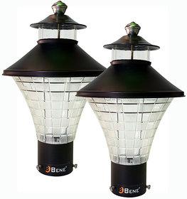 Bene Garden Light Nice RG, (Black, 18 Cms, Pack Of 2 Pcs)