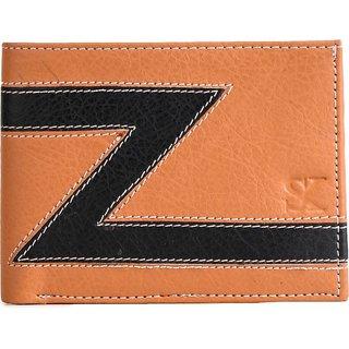 Styler King Men Black Artificial Leather Wallet (4 Card Slots)