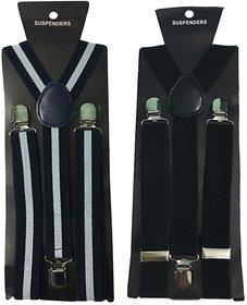 Atyourdoor Y- Back Suspenders for Men(WL  Black Color)