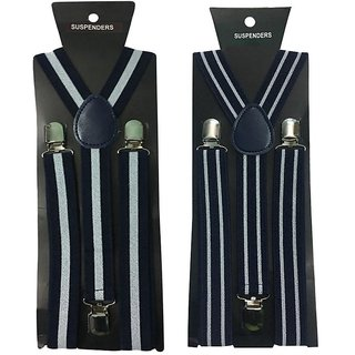 Atyourdoor Y- Back Suspenders for Men(WL Bline Design)