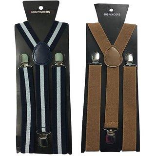 Atyourdoor Y- Back Suspenders for Men(WL Choco Color)