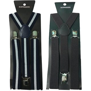 Atyourdoor Y- Back Suspenders for Men(WL Dark Brown Color)