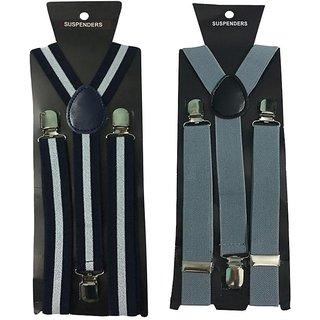 Atyourdoor Y- Back Suspenders for Men(WL Grey Color)